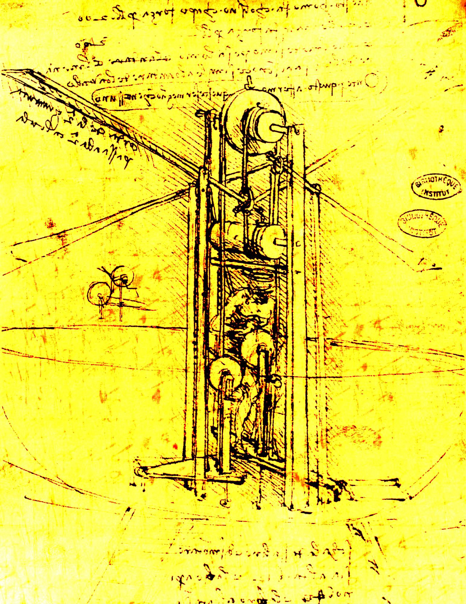 レオナルドダヴィンチの図解