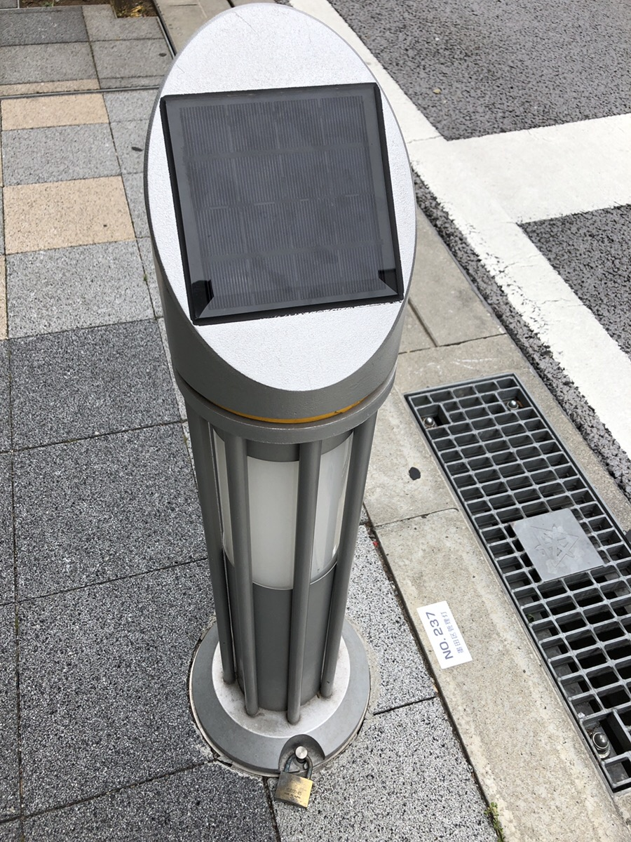 ソーラー式街灯