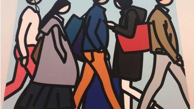点と線だけで構成された美しい作品、現代アーティスト、ジュリアン・オリーの個展に行きました!