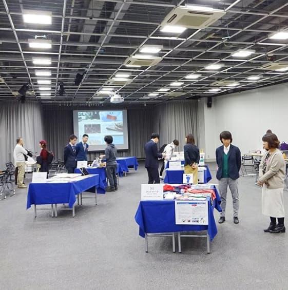 桑沢デザイン研究所のインスタグラムから 展示会の様子